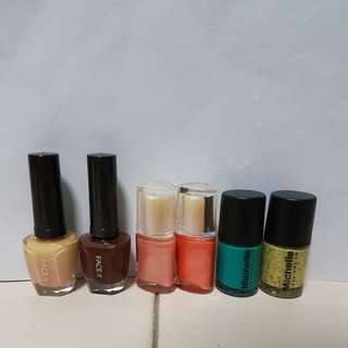 Nail Polish of Interesting Colours