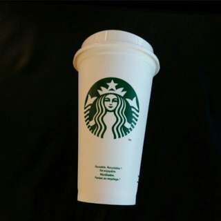 Starbucks resuable cup