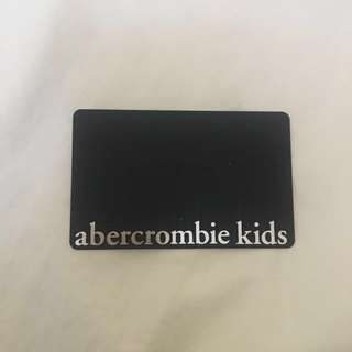 Abercrombie & Fitch Gift Card Value of $50