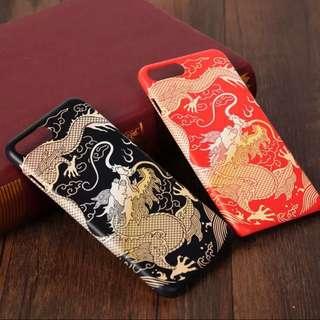 BN iphone x new yr dragon design tpu case