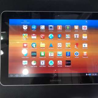Samsung Tab 10.1 inches,used,white color,Sim slot 🎀💎💎💎