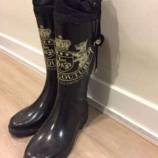 Juicy Couture Rainboots- size 9/10