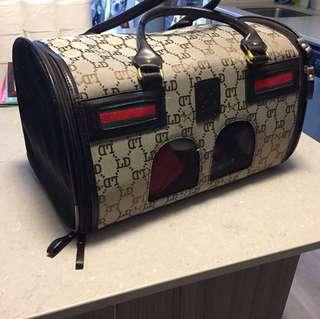 Gucci dog bag