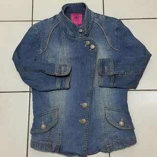 Crocodile jeans jacket fashion