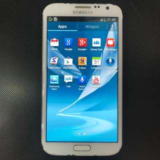 Samsung Note 2,white,used,good condition,stylus 🎀🍄💎💎