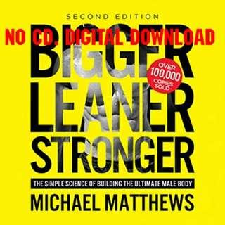 Bigger Leaner Stronger - Michael Matthews (AUDIOBOOK)