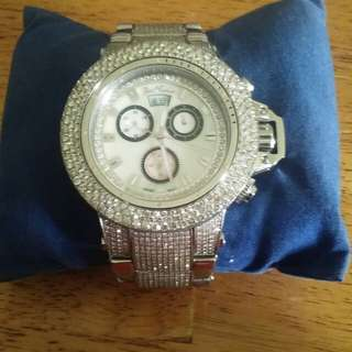 24 carat Joe Rodeo Razor Diamond Watch