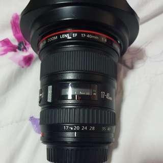 Canon EF17-40