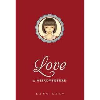 Love & Misadventure By Lang Leav - Love poems & sad girls story BRAND NEW Original