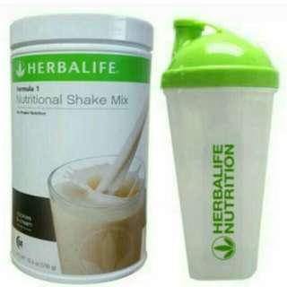 Herbalife shake &shaker cup
