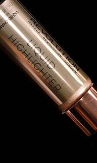 Authentic makeup revolution highlighter in shade champagne.