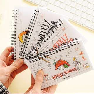 [Restock] Weekly planner 11 design  #Huat50Sale
