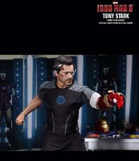 Hottoys~Iron Man 3. Tony Stark