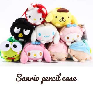 Sanrio plush pencil case #Huat50Sale