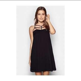 Zalora caged cut out dress