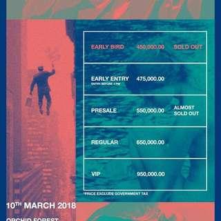 Lalala Festival regular tickets