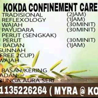 Kokda confinement care