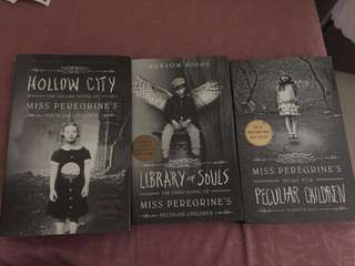 Miss Peregrine's Peculiar Children Books by Ransom Riggs