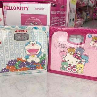 Hellokitty weighing scale