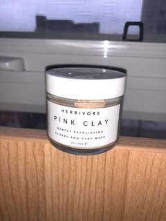 Herbivore clay face mask