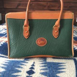 Vintage Dooney and Bourke Leather Purse
