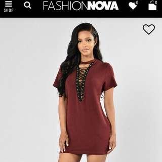 Fashion Nova Strung Out Tunic