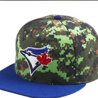 Blue jays camo hat