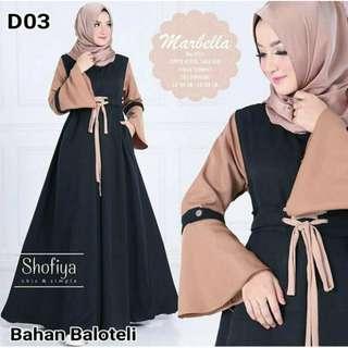 Marbella dress black