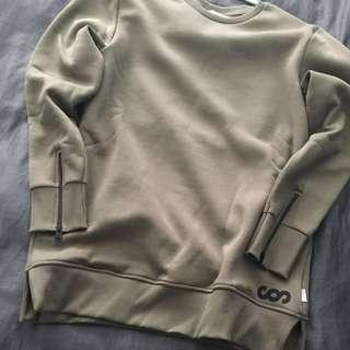 Men's Jack and Jones Long-Line Sweater