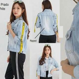 Jaket jeans impor