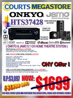 ONKYO & JAMO System Package: HTS37428