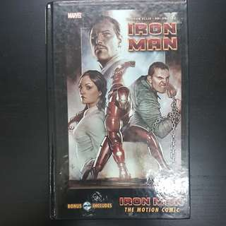 HC IRON MAN THE MOTION COMICS INCLUDES DVD