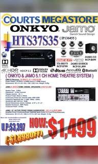 ONKYO & JAMO System Package: HTS37S35