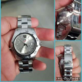 Tag Heuer Authentic Aquaracer Mens Watch