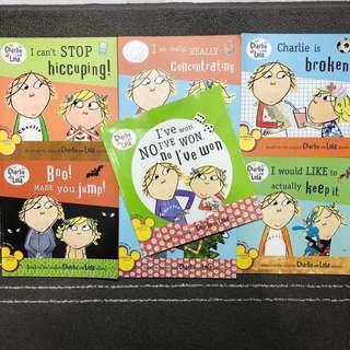 Charlie & Lola children's book