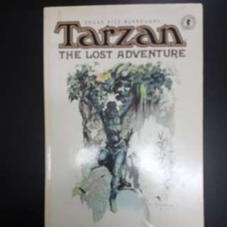 TARZAN THE LOST ADVENTURE