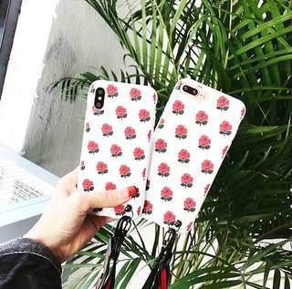 IPHONE X ROSE CASE