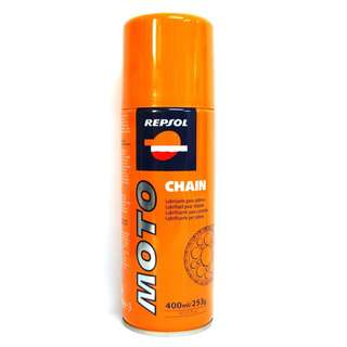 Repsol Moto Chain Lube Spray Rantai Motosikal Motorcycle Superbike