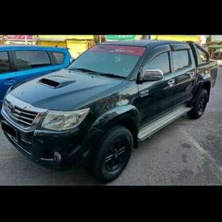 Toyota Hilux 3.0 (A) 4X4 Sambung Bayar / Car Continue Loan Loan