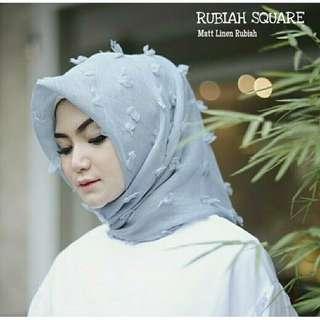 Linen Rubiah Square