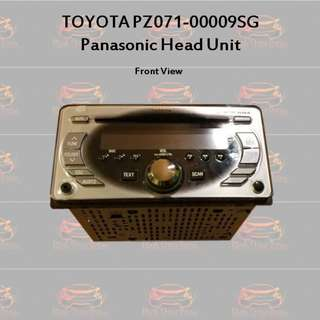 Toyota Double Din / 2 Din Head Unit (HU)