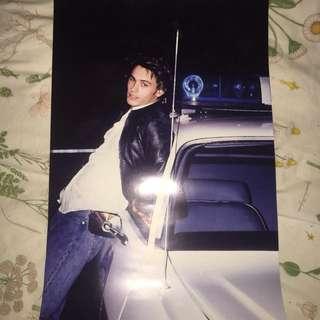 Vintage 90s James Franco poster