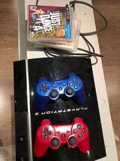 Ps3 and 2 controllers/games (best offer)