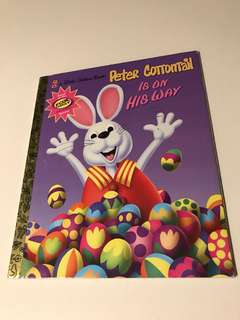 Peter Cottontail Is On His Way - Little Golden Book