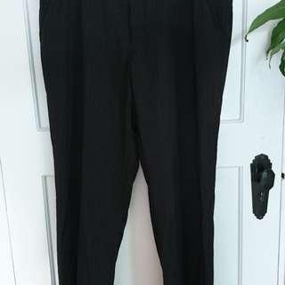 Men's Pinstripe Trousers