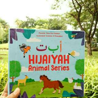 Buku hijaiyah animal series