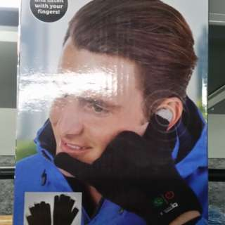 Cell phone glove
