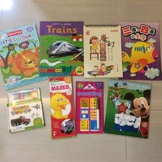 BN Bundle Toddler's Activity Books