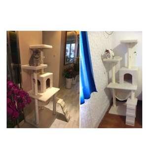 1.5 m Cat Tree House / Cat Condo