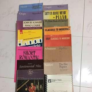 Piano Music Books - About 35 BUNDLE Grade 1-8 - FREE Nikki Metronome